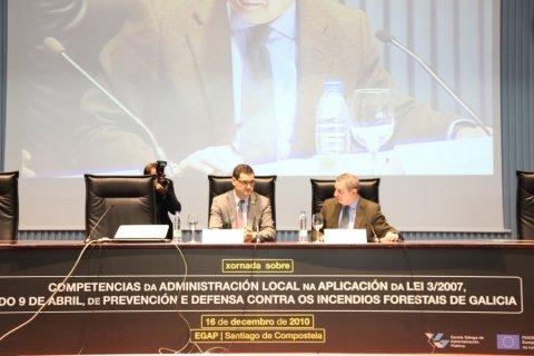 Inauguración - Xornada: Competencias da Administración Local na aplicación da Lei 3/2007,de 9 abril, de prevención e defensa contra os incendios forestais de Galicia